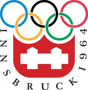 Logo van de Olympische Winterspelen 1964 in Innsbruc