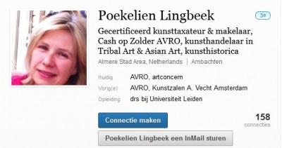 Poekelien Lingbeek op LinkedIn