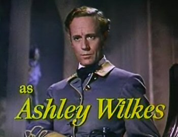 Dit kan niet goed gaan: Leslie Howard speelt Ashley Wilkes in Gone with the Wind (1939)