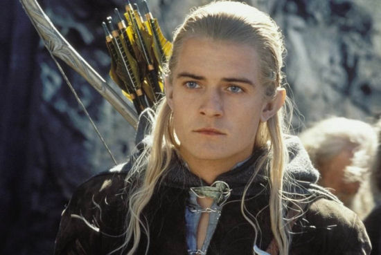 Orlando Bloom als Legolas in The Hobbit