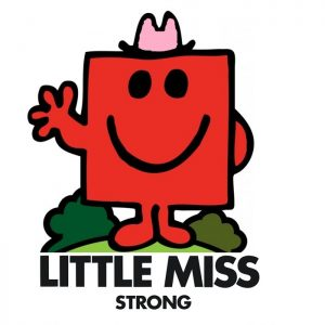 Image result for little miss strong
