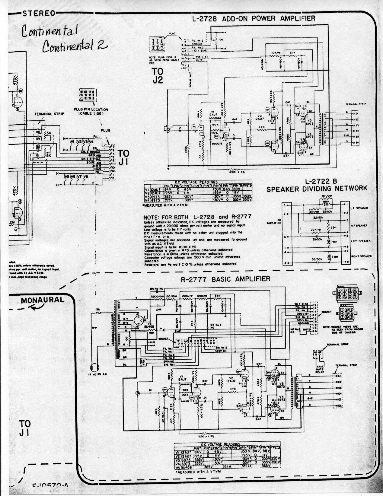 Correct Wiring Of Audio Output Transformer Ami Continental 2 And Amplifier Output Balance