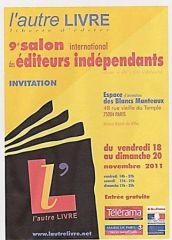 Salon l'Autre Livre, Paris 2011