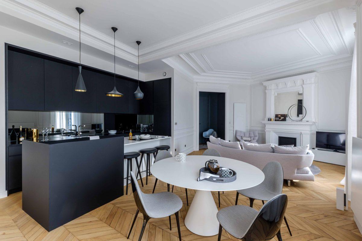 Intrieur Style Haussmannien Paris Agence Vronique Cotrel