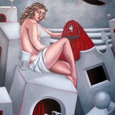 """Freedom and Inspiration 23x30"""" Acrylic on canvas, 2007  SOLD"""