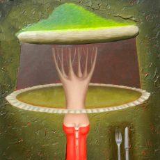 """La Dote #2  15x12"""" Oil on canvas, 2012  SOLD"""