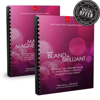 Marketing Magnetism and From Bland to Brilliant
