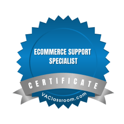 Ecommerce Support Specialist Certification