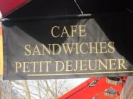 Café in Paris