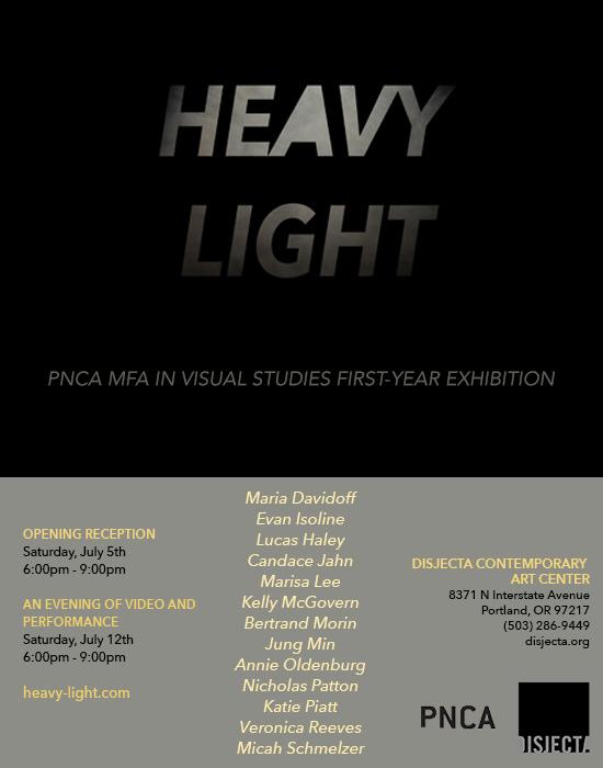 Upcoming Exhibition: Heavy Light
