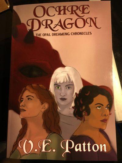 Ochre Dragon - in hand
