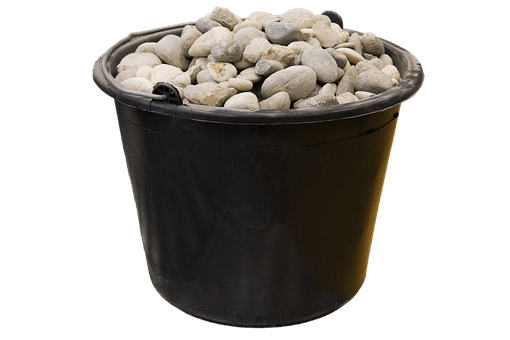 Bucketful of stones