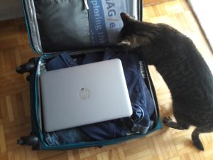 Conference travel with a carry-on: space for your personal item