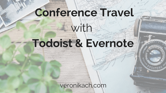 Conference travel with a carry-on | veronikach.com