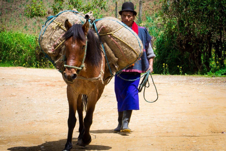 domorody obyvatelia kolumbie Guambiani, kolumbia cestopis, kolumbia mimo turisticke miesta