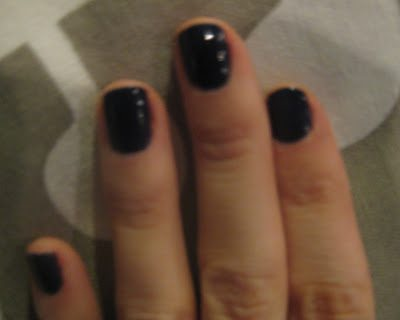 "NOTD: OPI's ""Sapphire in the Snow""  & Ivanka Trump Ties the Knot"