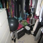 Tsk Tsk: A Messy Closet Clean-Up Story