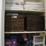 Organizing Your Life: Bathroom Storage