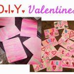 DIY Painted Valentines