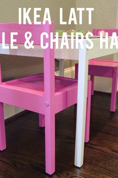 IKEA Hack: LÄTT Playtable & Chairs