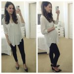 Nordstrom Anniversary Sale Buy: White Tunic Blouse