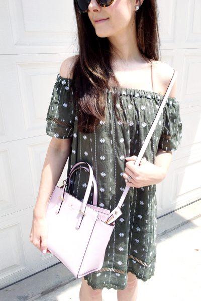 An Olive Dress & Favorite Sunnies