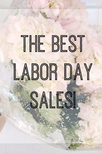 Labor Day Sales & My Picks