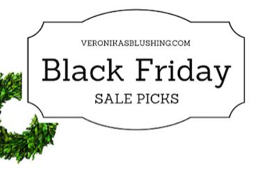 Black Friday 2016 Sales & My Picks!