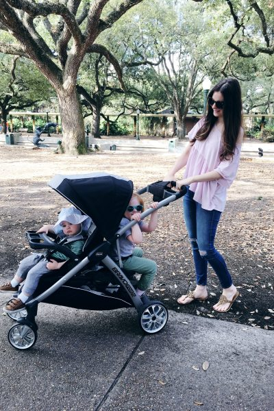 Chicco BravoFor2 Stroller Review (The Stroller You've All Been Asking About) + A Trip to the Zoo