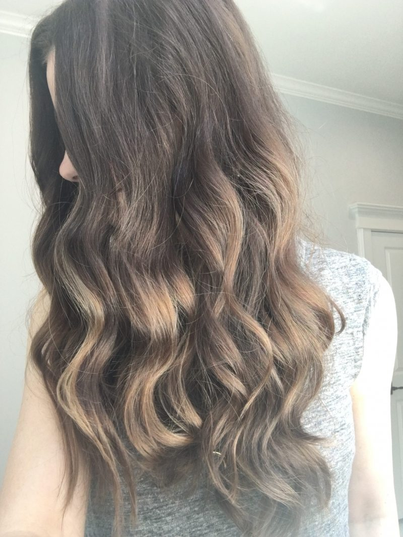 How to use a curling wand hair styling favorites veronikas i think these photos speak for themselves as to why im obsessed with this curling wand it gives you the most perfect waves a little undone urmus Images