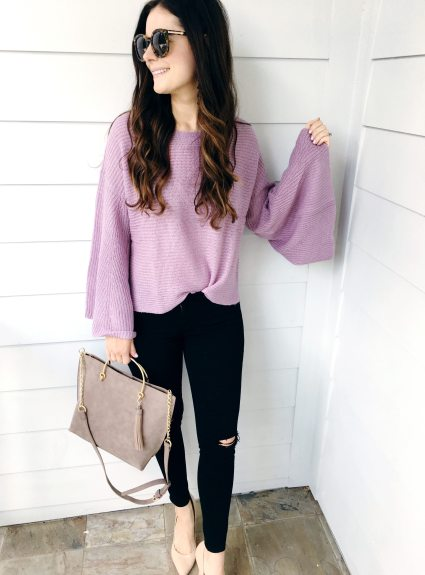 The Best Bell Sleeve Sweaters for Fall