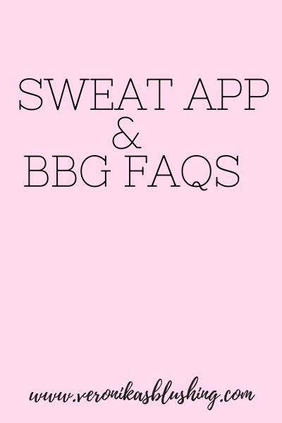 Kayla Itsines BBG & SWEAT App FAQs