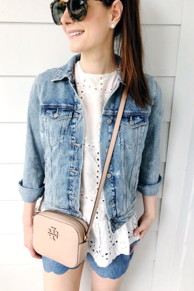 Eyelet, Scallops + Denim