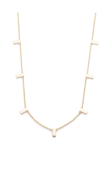 Melanie Auld Multi Bar Necklace
