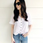 Spring Fashion Finds at Walmart (So Much Good Eyelet + a Utility Jacket You'll Love!)