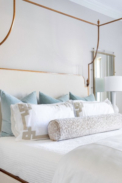 Design at Home: How to Make + Style Your Bed with Oyster Creek Studios