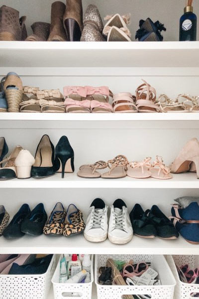All About Our Shoe Closet & Entryway