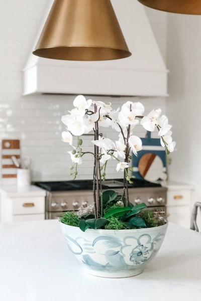 How to Make a Faux Orchid Arrangement