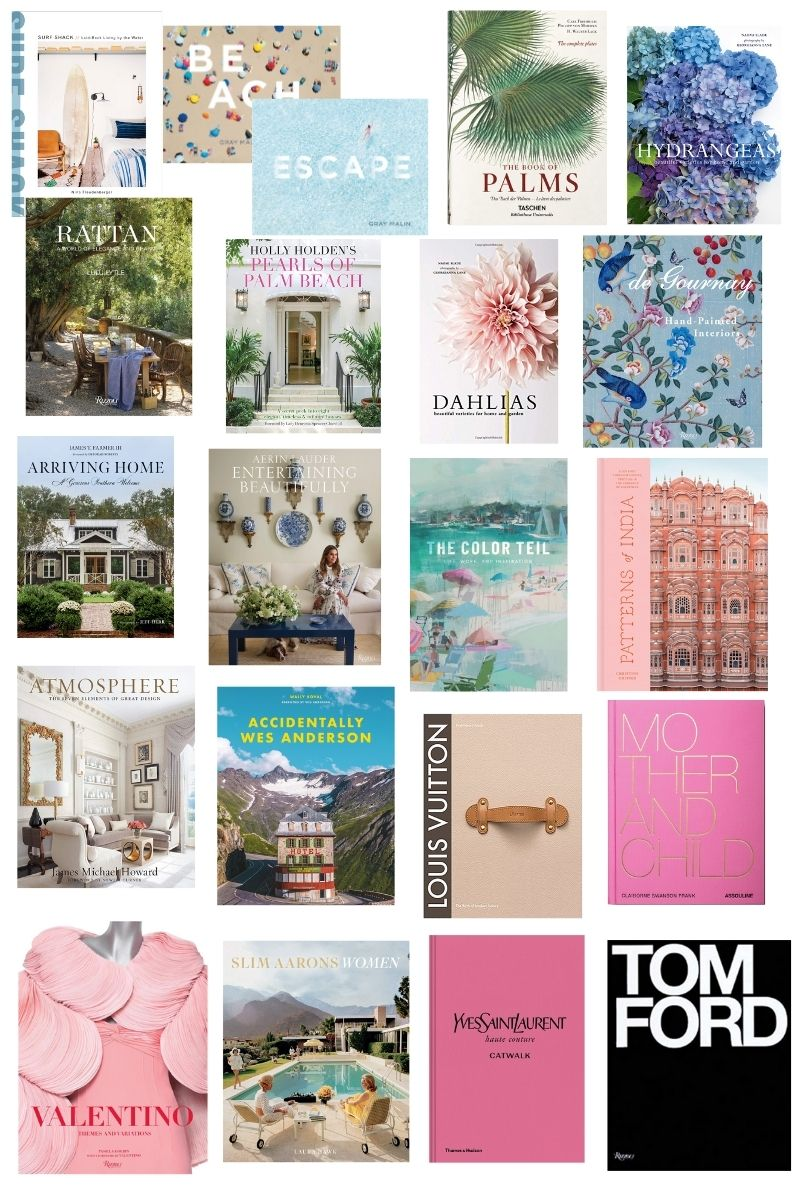 Beautiful Coffee Table Books Interiors Travel Entertaining Fashion Garden Veronika S Blushing