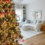 Our Family Room Holiday Decor