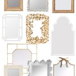 Favorite Mirrors for Bathrooms & Power Rooms