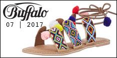 Produkt des Monats Juli 2017 – Buffalo Damen 7535 Goat Kid Knöchelriemchen