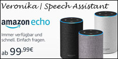 Angebot des Monats Oktober 2017 - Amazon Echo