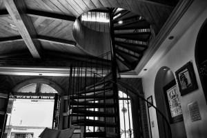 forme d'escalier métal