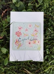 ©Véronique Milioni, Créatrice, Papeterie Carte Postale Esprit libre
