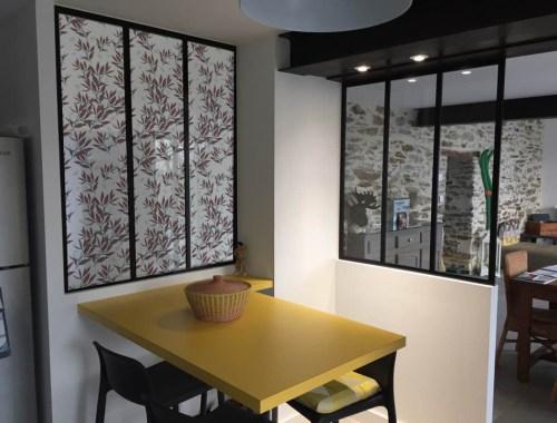 ©Véronique Milioni, Motif Herbes Sauvages, La Marque, créatrice de décorations vitrages pour les besoins des architectes et décorateurs d'intérieurs, hôtels et restaurants haut de gamme, boutique de luxe, univers du zen et du développement personnel