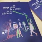 ©Véronique Milioni, graphisme, illustration, Le passage piéton qui se prenait pour un code-barres