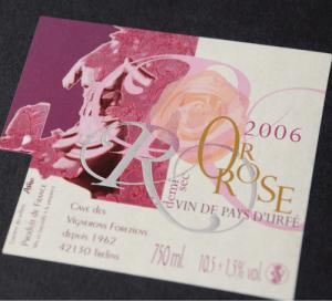 ©Véronique Milioni, graphisme, création-édition étiquette de vin