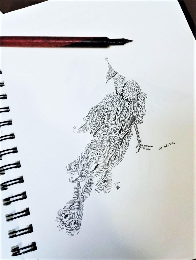 ©Véronique Milioni créatrice dessin méditatif lyon