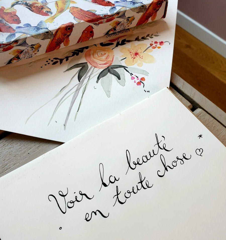 ©Véronique Milioni créatrice lyonnaise, calligraphie beauté, nouveaux projets